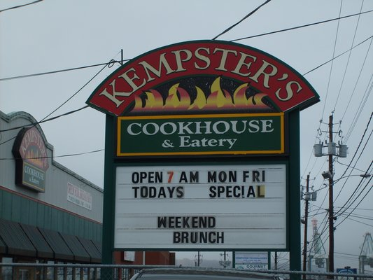 Kempsters Cookhouse & Eatery